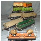 10 Early Lionel 800 Series Freight Cars