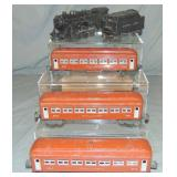 Lionel Postwar Steam Passenger Set