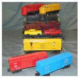9pc Lionel Postwar Train Group