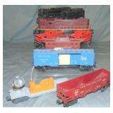 8pc Lionel Postwar Train Group