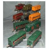 9pc Early Period Lionel Group