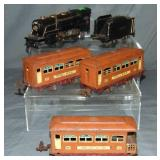 Lionel 259E Steam Passenger Set