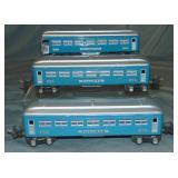 3 Lionel 2630 Passenger Cars