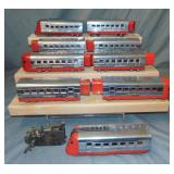 9pc Lionel Jr Streamline Group