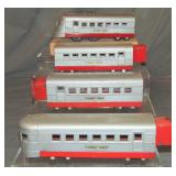 3pc Uncataloged Lionel Jr 1700E Streamliner