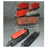 5 Lionel 2800 Style Freight Cars