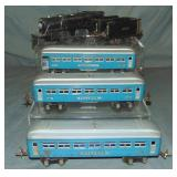 5Pc Prewar Lionel Steam Passenger Set