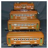 Restored Lionel 4U Passenger Set