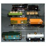 Restored Lionel 257 Steam Freight Set