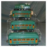 Clean Original Lionel 252 Passenger Set