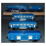 Restored Lionel Early Blue Comet Set