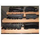 3 Restored Lionel Steam Locos