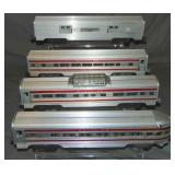 Clean Lionel Super Chief Passenger Cars