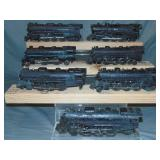 8 Postwar Lionel Steam Locomotives, TLC