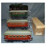 Clean Marklin O ga Steam Passenger Set