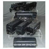 Lionel Steam Locomotive & Tender Lot