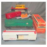 5 Lionel Freight Cars