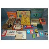 Assorted Vintage Game Lot