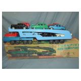 Sears, Tin Turnpike Auto Transport in Original Box