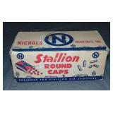 Nichols Stallion Round Caps Case.