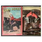 Gene Autry Ranch Outfit Cap Gun Set Boxed.
