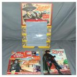 Zorro. Three Piece Lot.