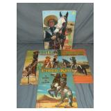Cisco Kid. Lot of Five Coloring Books.
