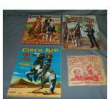 Cisco Kid Four Piece Lot.