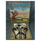 Rare Roy Rogers Holster Set Boxed.
