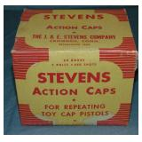 J & E Stevens. Action Caps. Case of 60.