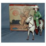 Hartland. Annie Oakley and Horse Target. Boxed.
