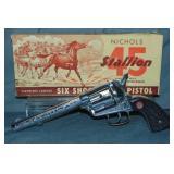 Nichols Stallion 45 Cap Gun in Box.