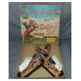 Roy Rogers Holster Set Boxed