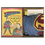 Boxed Superman Official Play Suit, Ben Cooper.