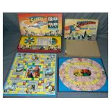 Lot of Two Superman Board Games.
