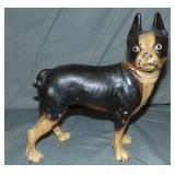 Boston Terrier Doorstop