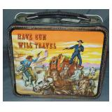 "1960 Paladin ""Have Gun Will Travel"" Lunchbox"