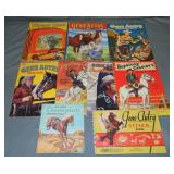 (7) Vintage Western Coloring Books & Stencil Book