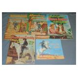 Western Cut-Out & Punch Out Books