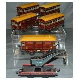 6pc Carette Rolling Stock Lot