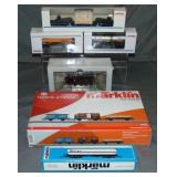 6Pc Marklin HO Steam Freight Set