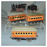 Ives Steam Passenger Set