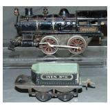 Ives Steam Loco & Tender Lot