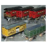 5pc Ives Rolling Stock Lot