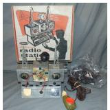 Boxed Remco Electronic Radio Station