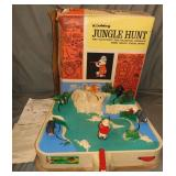 Hubley Jungle Hunt Battery Op Toy in Original Box