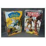 Aurora Comic Scenes Tonto Model Kit + Extra Box