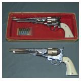 Pair of Hubley Colt 45 Cap Pistols