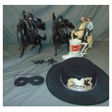 Lone Ranger Toy Collectible Lot