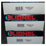 3 Lionel 16322 Sealand TTUX Sets